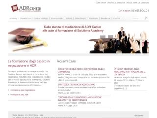 ADR Solutions Academy | ADR Center Spa | Web Design e gestione