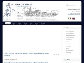 Alliance Culturelle Srl | Web Design