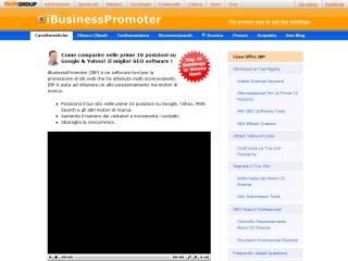 IBusinessPromoter | Axandra GmbH | Web Design e rivendita prodotto