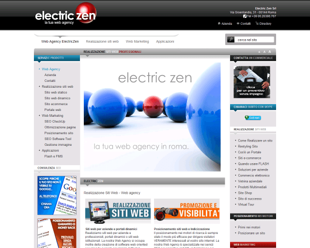 lectric ZEN Srl | Web Design